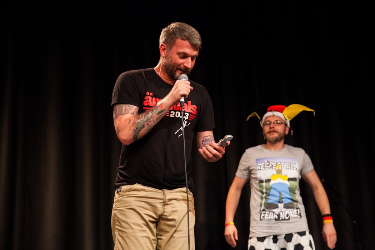 Peter Parkster gewinnt den 2. Fußball Poetry Slam
