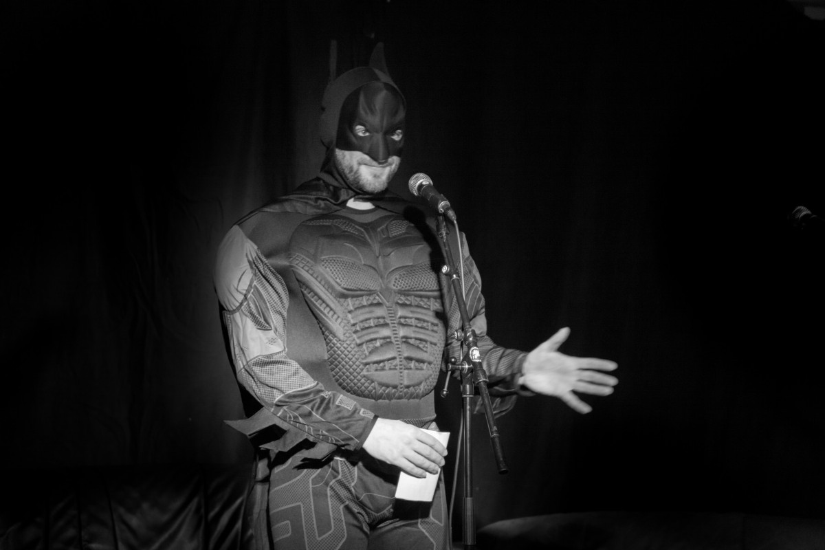 Peter Parkster als Batman