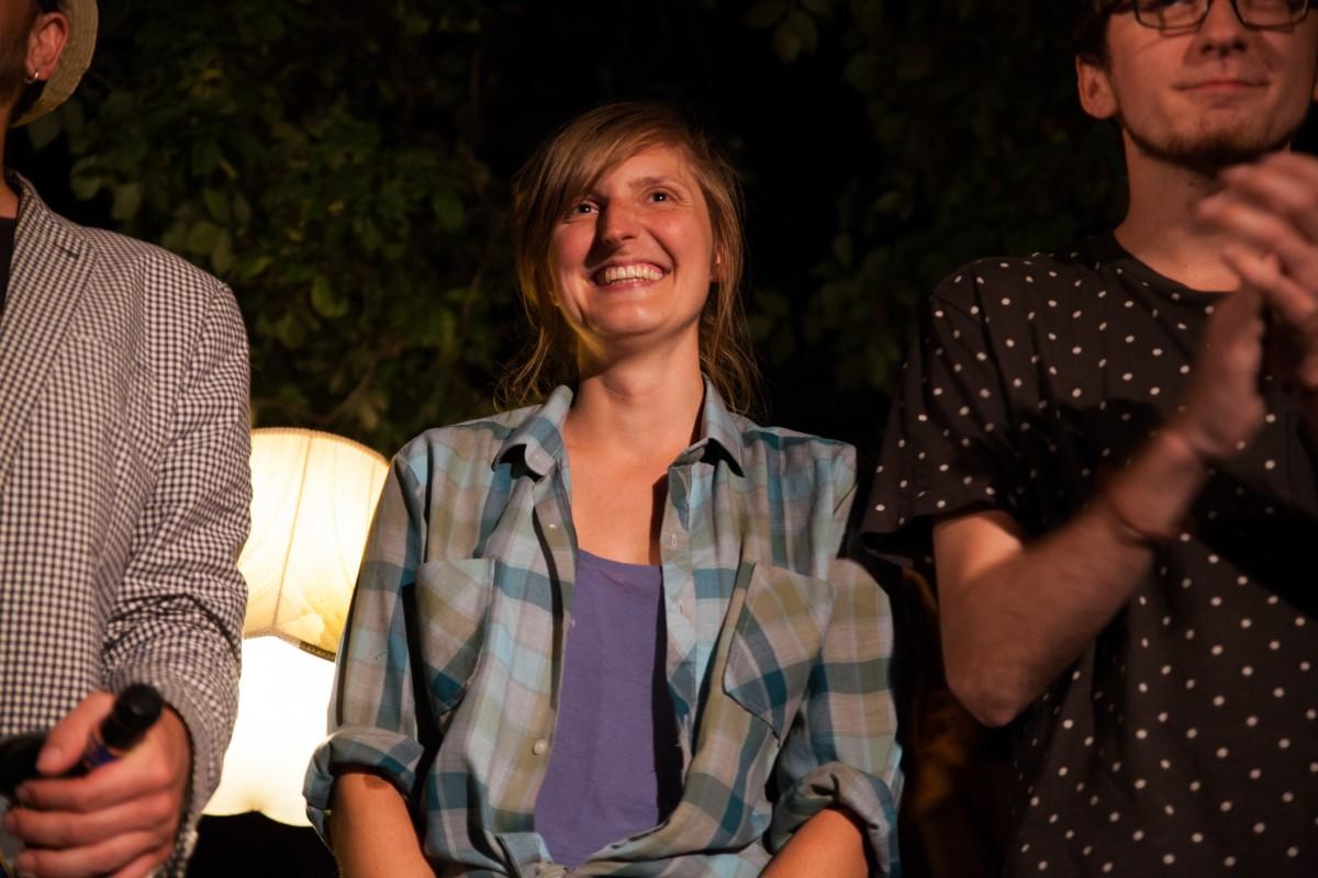 Adina gewinnt den 9. Fürther Poetry Summer Slam