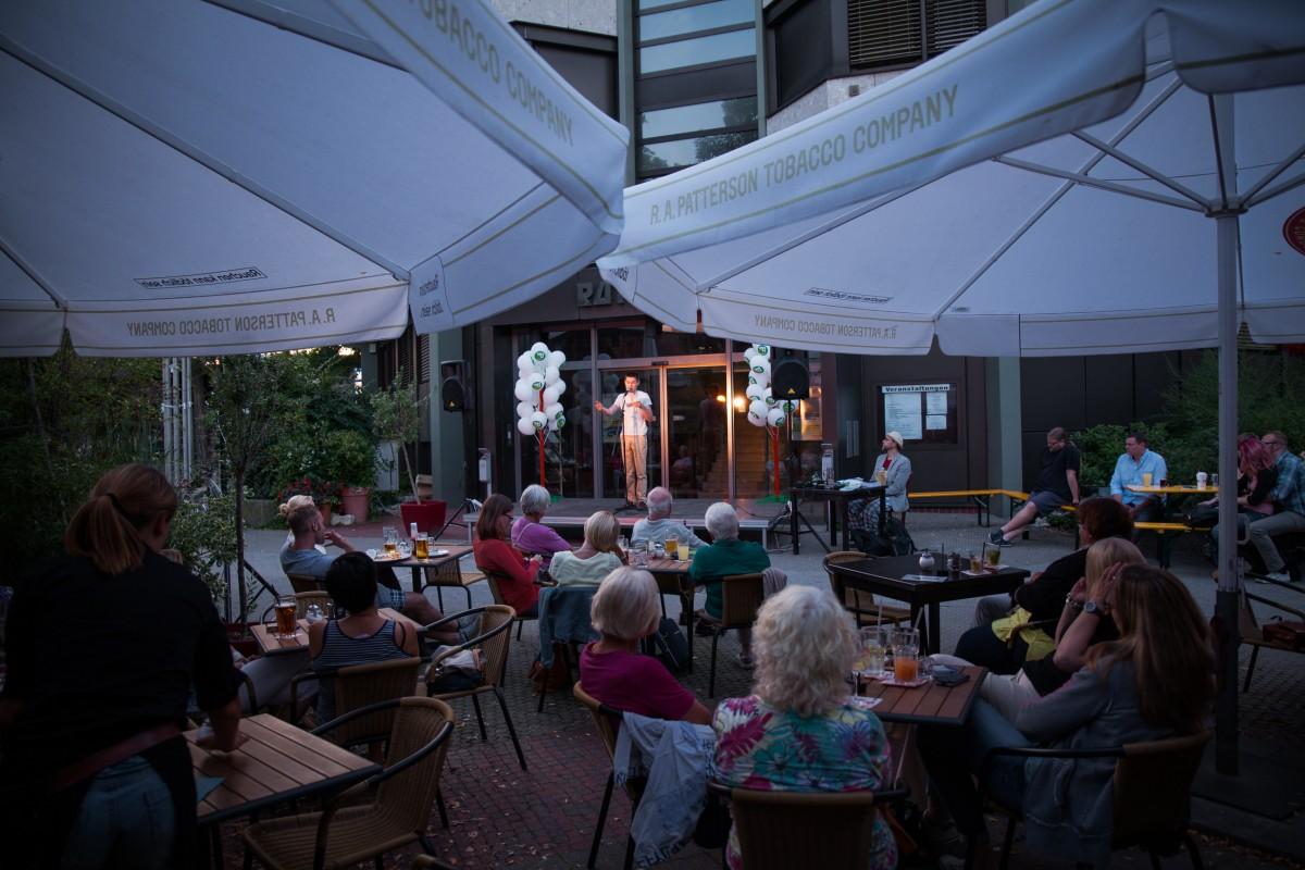 Oberasbacher Open Air Poetry Slam 2014