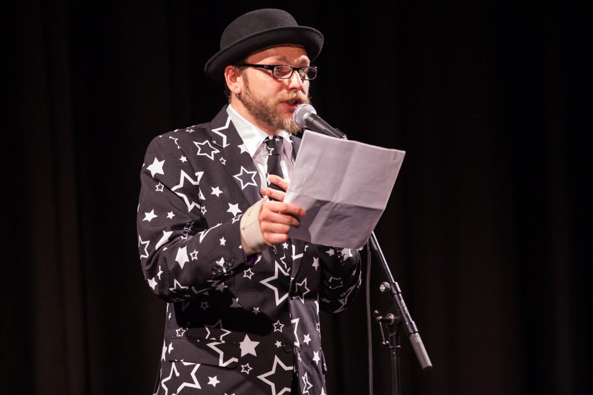 Moderator Michael Jakob als Featured Artist